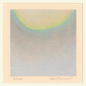 TuTuTun, pastel on paper, 6 x 6